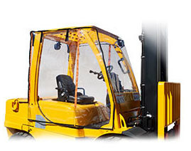 Full Forklift Cab Enclosure