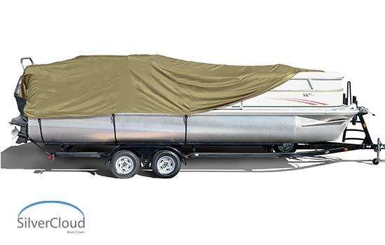The SilverCloud series offers sleek and superior quality covers that are trailerable and designed to have superior strength for long lasting life. These covers will not shrink or stretch.