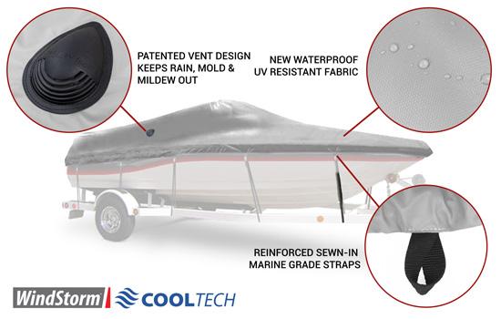NEW! Windstorm CoolTech Technology