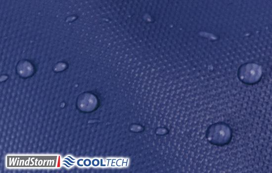 Windstorm CoolTech is 100% Waterproof
