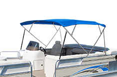 4 BowPontoon Bimini Top