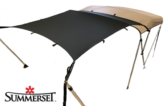 Instantly extend the shade area of your bimini with the Tailwind extension.
