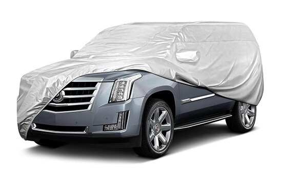 SUV CoversWe offer a wide variety of styles and performance levels for all types of SUV's.SHOP SUV COVERS