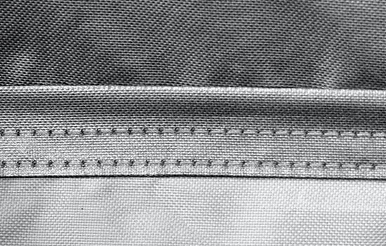 silverguard custom truck cover stitching