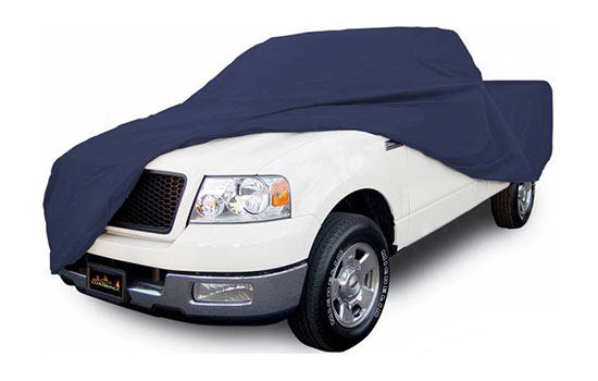 satin stretch custom impact blue custom truck cover product main
