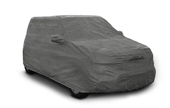 custom car cover triguard suv grey
