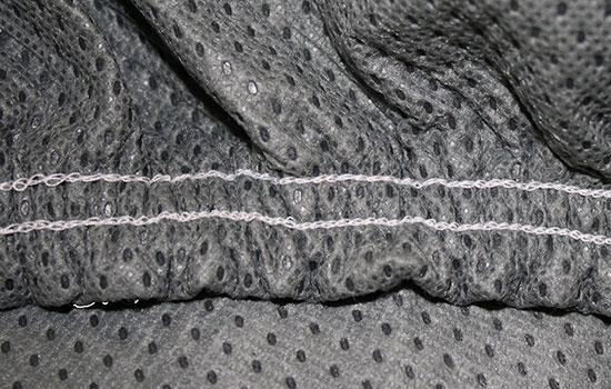custom car cover triguard elastic grey