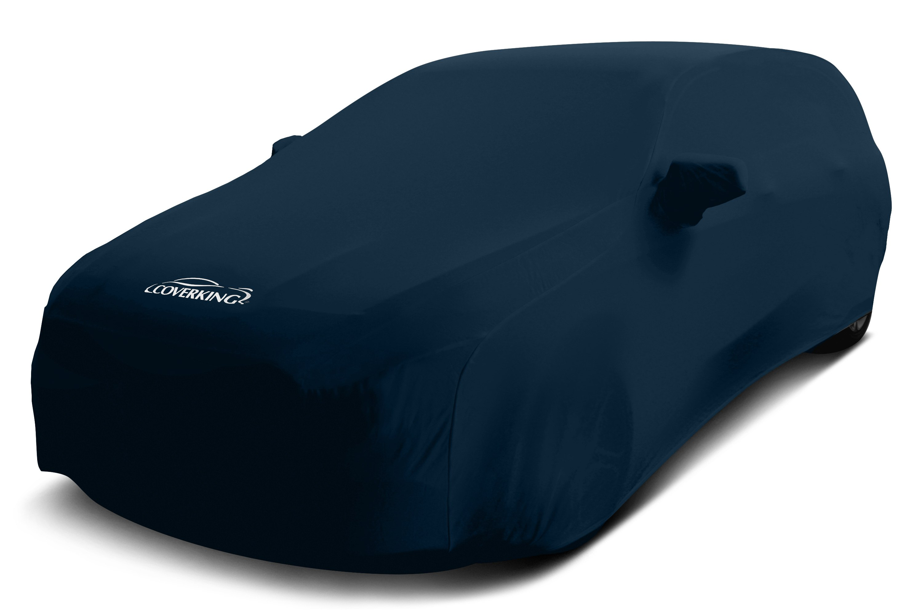 satin stretch navy blue car covers 4