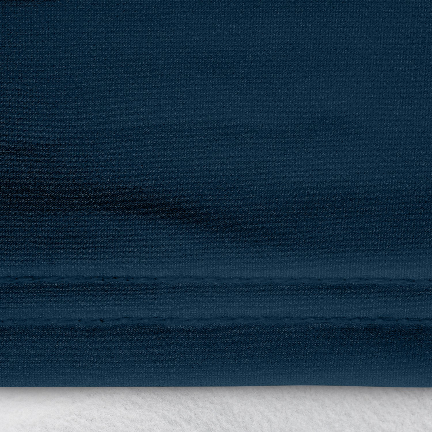 satin stretch navy blue car cover double stitching