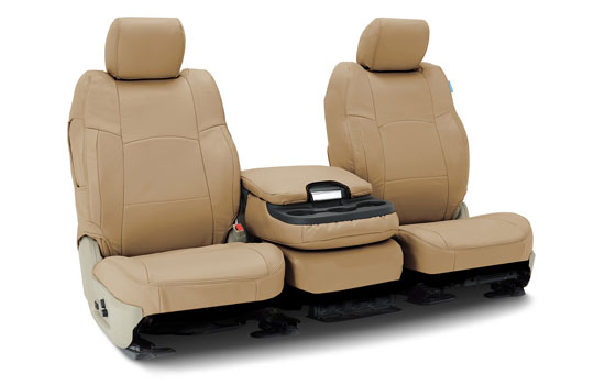 genuine leather custom seat covers folded