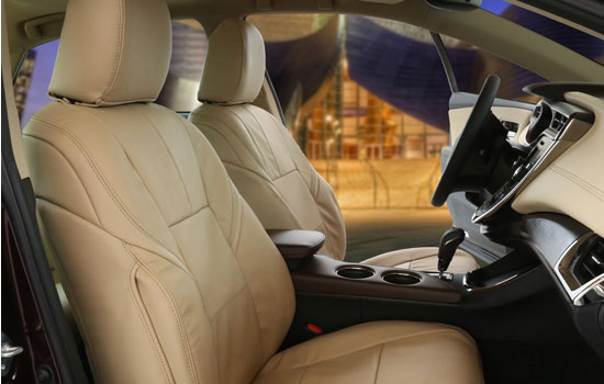 genuine leather custom seat covers view
