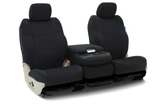 neoprene custom seat covers folded
