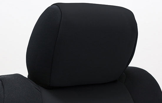 neoprene custom seat covers headrest