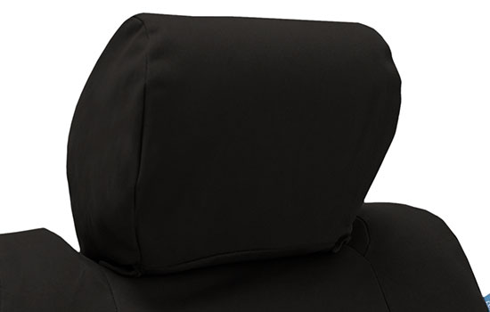 polycotton drill custom seat covers headrest