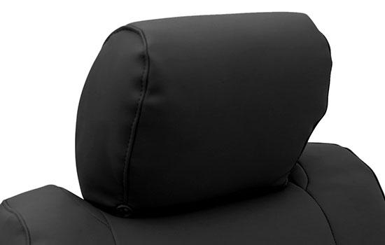 premium leatherette custom seat covers headrest