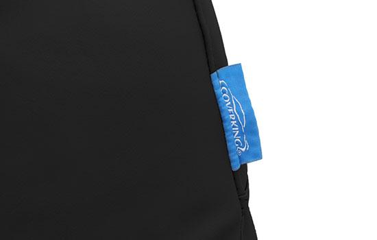 premium leatherette custom seat covers tag