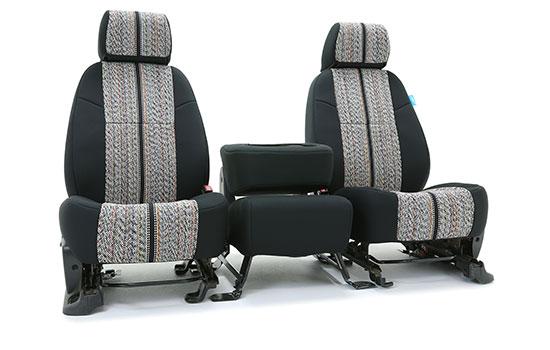 saddle blanket custom seat covers folded