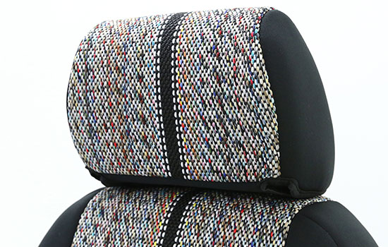 saddle blanket custom seat covers headrest