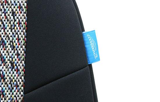 saddle blanket custom seat covers tag