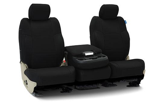 spacer mesh custom seat covers folded