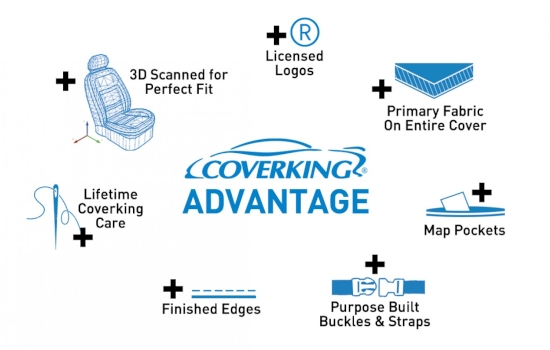 Seat Covers coverking advantage 2014 3 1