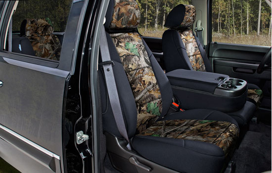 realtree custom seat covers view