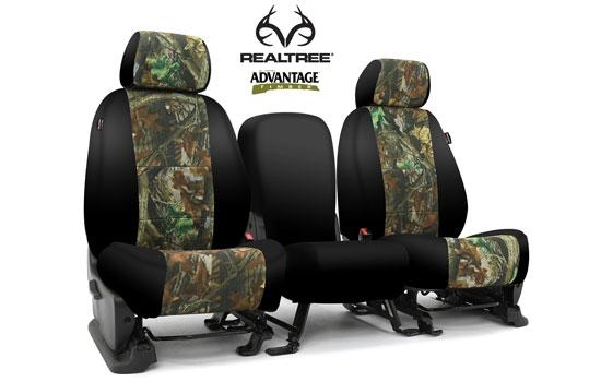 realtree custom seat covers main