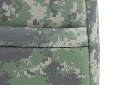 digital camo custom seat covers pocket