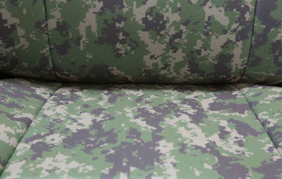 digital camo custom seat covers seat material