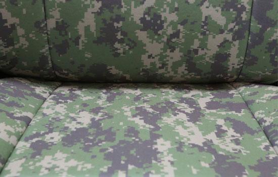 digital camo custom seat covers seat material