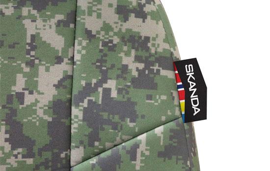 digital camo custom seat covers tag