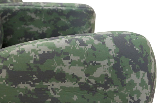 digital camo custom seat covers cushion