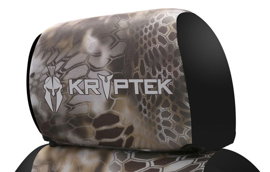 kryptek custom seat covers headrest