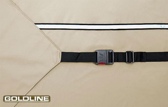 Heavy duty rear tension flags and 2 inch XT strap create custom - like fit.