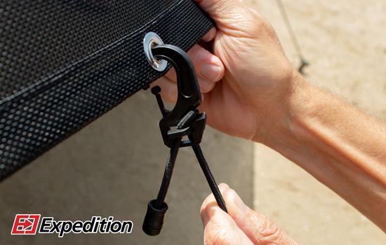 bottom sun shade bungee