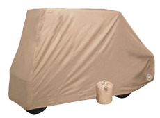 UNIVERSAL REAR SEAT Flip Down Golf Cart Covers