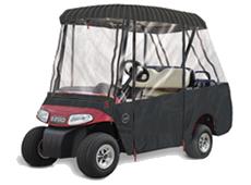 SUNBRELLA 4 PASSENGER W/ 2 Passenger Roof Golf Cart Enclosure