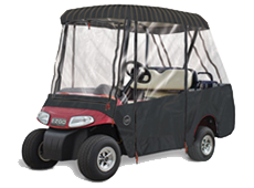 SUNBRELLA 2 Passenger Roof / 4 Passenger Seating Golf Cart Enclosure