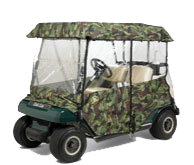Greenline Camo Golf Cart Enclosures