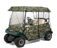 Greenline Camo Golf Cart Enclosures