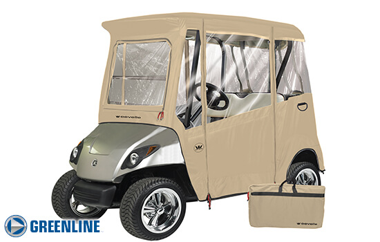 YAMAHA 2 PASSENGER Drive Golf Cart Enclosure