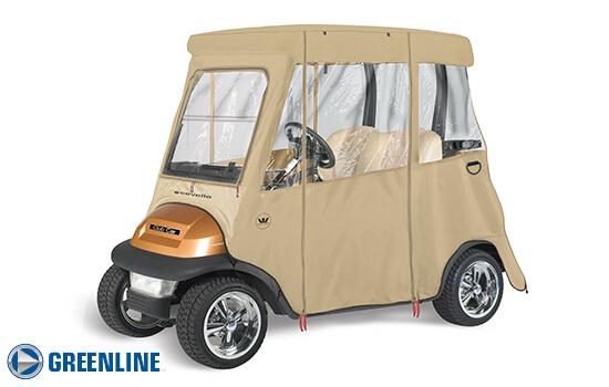 GREENLINE 2 PASSENGER Club Car Precedent Golf Cart Enclosure