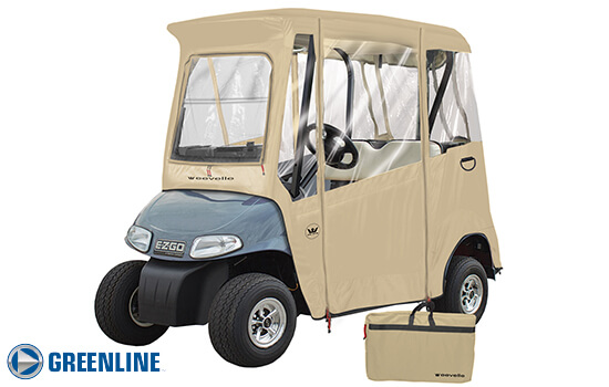 EZGO - 2 PASSENGER EZ-GO Golf Cart Enclosure