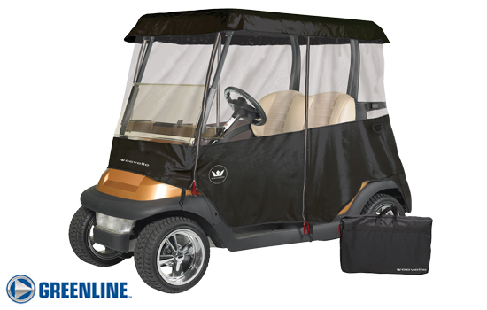 GREENLINE 2 PASSENGER Universal Golf Cart Enclosure / Great for rentals