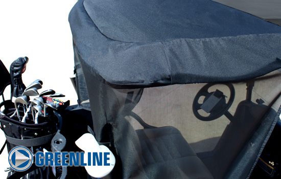 Greenline Golf Cart Shade by Eevelle roof