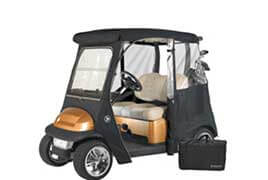 Golf Cart CoversWhen it comes to golf cart enclosures, Outdoor Cover Warehouse has a wide variety of options to choose from...