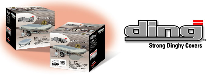 DING Inflatable Boat Cover Packaging