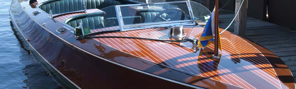 Eevelle V Hull Runabout Wooden Boat