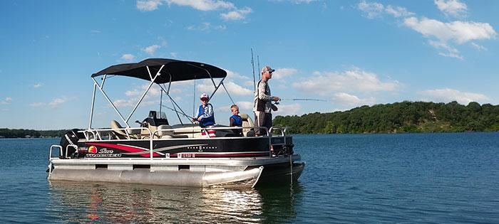 Pontoon Boat Bimini Tops | Double Pontoon Boat Bimini Tops