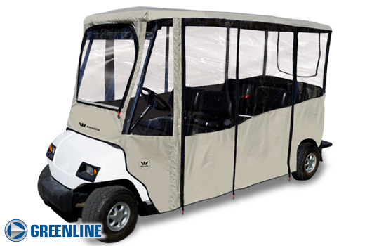 6 Passenger Golf Cart Enclosures | Outdoor Cover Warehouse